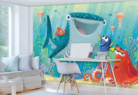 Disney Finding Dory full size bedroom wallpaper